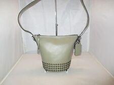 Coach Handbag 32386 Bleecker Grommet  Mini Leather Duffle, Shoulder Bag, Purse