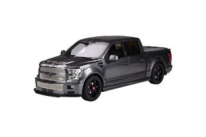 2017 FORD SHELBY F-150 SUPER SNAKE PICKUP GRAY 1/18 BY GT SPIRIT FOR ACME US022