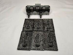 Mega Bloks Castle Decorative Wall Plates Battlement and Castle Wall Accessories