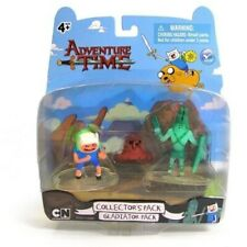 Adventure Time Finn & Mud Jake & Gladiator Ghost Collector's Pack #14206 Figures