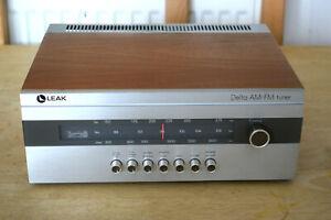 LEAK Delta AM-FM Stereo Radio Tuner Vintage Hi-Fi Separate MADE IN ENGLAND