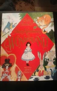 NEW Alice's Adventures in Wonderland SIGNED by Chris Riddell 1st/1st