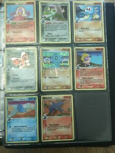 Lot de 12 Cartes Pokemon 100 % Bloc EX rare ...Iles des Dragons