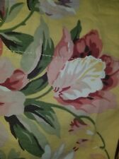 RALPH LAUREN SOPHIE BROOKE FLORAL FULL FLAT SHEET AND (2) PILLOWCASES EUC