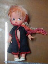 vecchia bambola gomma plastica FIBA Made in Italy V70 25 cm tipo FRUGOLINI di