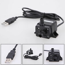 DC 3.5V - 9V 3W USB Submersible Fountain Pond Pump Water Pump Aquarium Fish Tank