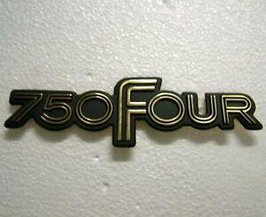750 FOUR Side Cover Badge for HONDA CB750 F1 F2 1975 1976 1977 Metal Emblem HS08