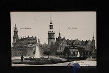 alte AK Dresden Hofkirche Schloss 1915