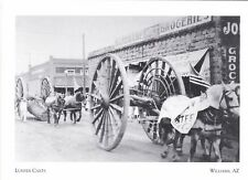 """Lumber Carts"" -The Big 4th of July Parade"" -*Williams, AZ  'Postcard'#258"