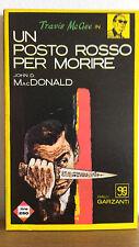 Un posto rosso per morire - John D. MacDonald - Garzanti  3001