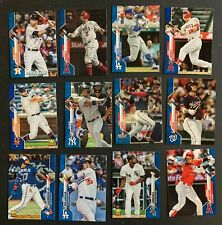 2020 Topps Factory Blue Parallel /299 Cards 601-700 SET BREAK