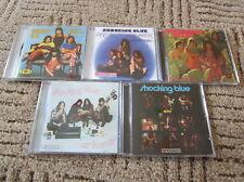 Shocking Blue 5CD Set At Home Scorpio Dance Third Album Inkpot Attila Dream On..