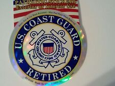 U.S. Coast Guard Retired Decal