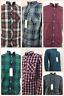 Mens Ex-Next LS Check Casual Summer Shirt 100% Cotton In 7 Patterns Style 1