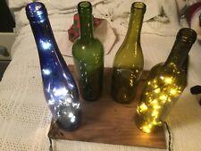 Christmas lighted Wine Bottle Light