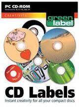 Greenstreet CD Labels - Design Create Print - PC (Brand New)