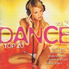 Dance Top 20 Vol.2 CD Kate Ryan Pulsedriver Jan Wayne Blank & Jones Pulsedriver