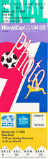 Photo Ticket Billet Finale Coupe du monde 1994 Brésil