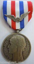 Médaille d'Honneur AERONAUTIQUE 1964 aviation argent ORIGINAL FRENCH MEDAL