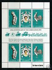 New Hebrides 1978 Anniv.of Coronation sheet SG262a MNH