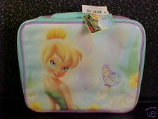*TINKER BELL*SOFT SIDE LUNCH BAG*TOTE*BOX*NEW WITH TAG*