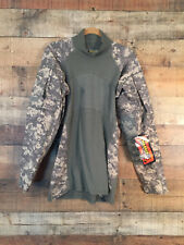 Men's Massif Army Combat Shirt Size M ACU Flame Resistant Moisture Wicking