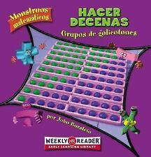 Hacer decenas / Making Tens: Grupos De Golicotones / Groups of Gollywomples (Mon