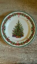 Traditions Holiday Celebrations by Radko Columbia Salad Plate Euc