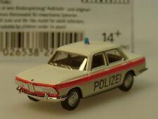 Brekina BMW 2000 Polizei Solothurn/ Schweiz, rot - Sondermodell 24414 - 1:87