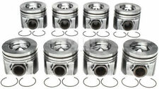 Ford 6.4 6.4L Powerstroke Diesel MAHLE Pistons (8) +Ring Kit 2008-10 .030
