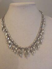 Fringe Collar Bridal Necklace #94K $248 Kate Spade Exquisite Evening Affair