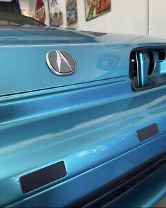 1992-1993 Acura Honda Integra DA9 DB2 DA6 Front Bumper license plate plugs