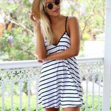 Women Summer Dot Print Full Sleeve Button Long Dress Straight Party Beach Dress