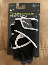 Nike Premium Heavy Weight Gloves Size Womens M Training CrossFit Weightlifting