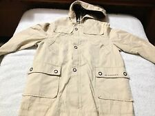 Authentic BURBERRY JACKET / COAT TAN Size 6Y