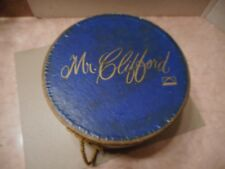 Vintage Hat Box Hatbox Mr. Clifford  Oppenheim Collins Large Advertising Hat Box