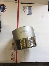 "3""x3"" stainless steel toe nipple 316 sch40"