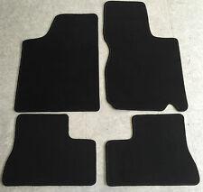 Fußmatten Autoteppiche für Opel Kadett E Cabrio 1986-1993 schwarz 4tlg Neuware
