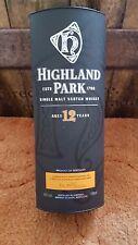 Empty Highland Park Whisky Box.