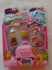 NEW SHOPKINS Season 4 5 Pack with Shy Pie