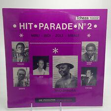 """HIT PARADE NO. 2 TCHEZA AFRO BEAT CONGO ULTRA RARE 12"""" LP"""