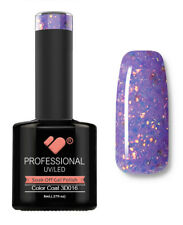 3D-016 VB Line Purple Gold Glitter - gel nail polish - super gel polish