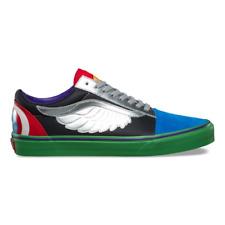 Mens Vans Old Skool Marvel Avengers Skateboard Shoes Captain America Thor