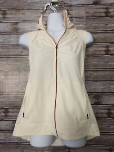 LULULEMON Go The Distance Vest  Hood Women Reflective Run Gym Jacket Sz 6 NWOT