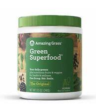 Amazing Grass Green Superfood Organic Powder Wheat Grass 30 Servings Original