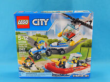 Lego City Starter Set 60086 New Sealed 242pcs Fire Police 2015