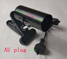 AU Plug Light Lamp Holder Stand for Reptile Ceramic Infrared Heat Emitter NEW