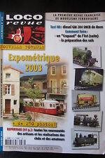 MODELISME FERROVIAIRE TRAIN MAGAZINE LOCO REVUE N° 678 de 2004