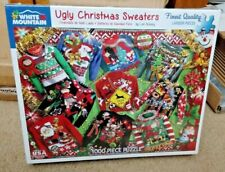 White Mountain 1000 Piece Puzzle - Ugly Christmas Sweaters