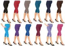 Pregnancy Cropped Maternity Leggings Very Comfortable Pants Size 6-20*3/4 MTRLG